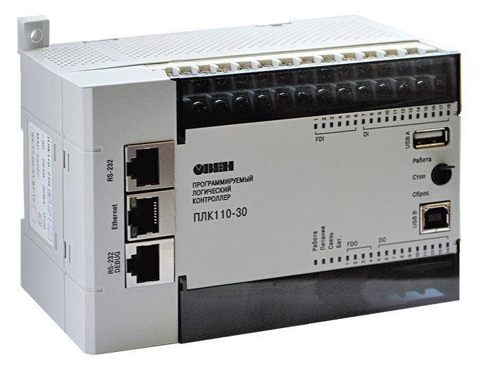 Программируемый логический контроллер ПЛК110
