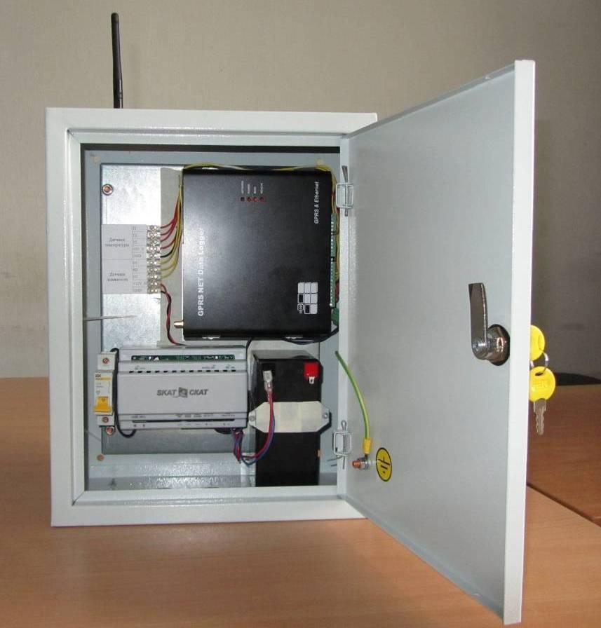 Система мониторинга морозильной камеры в сборе.