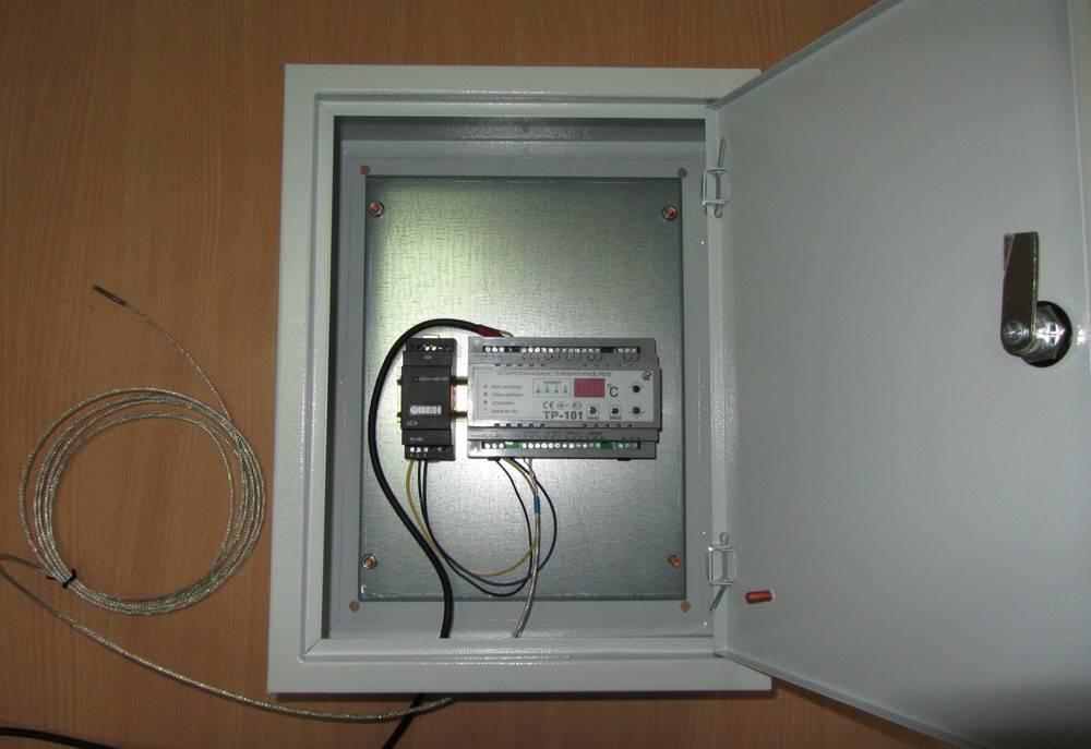 Локальная система мониторинга температуры в аптеке