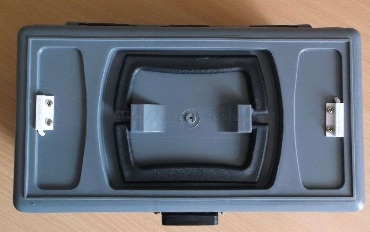 Автономный GPRS логгер температуры для термофургона. 2 датчика температуры для точности показаний. Вид сверху.