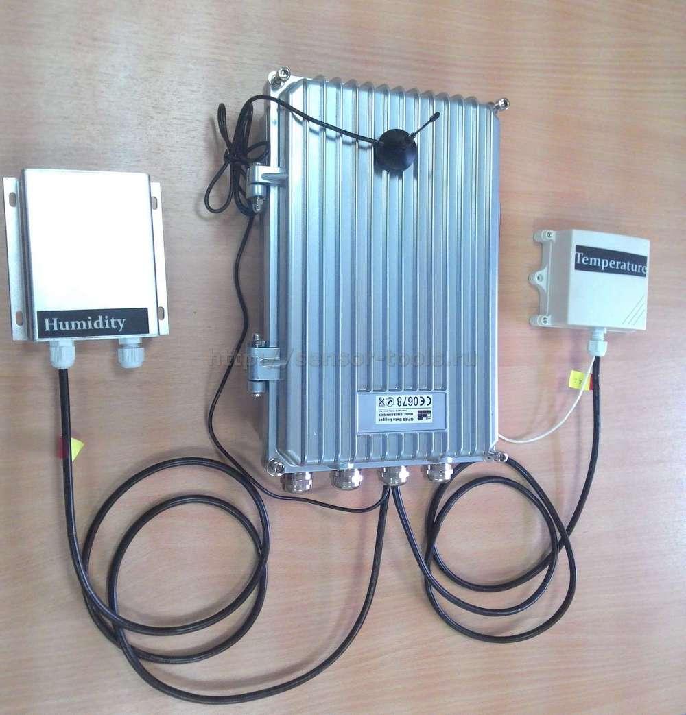 Автономный регистратор температуры, влажности, давления и других параметров.