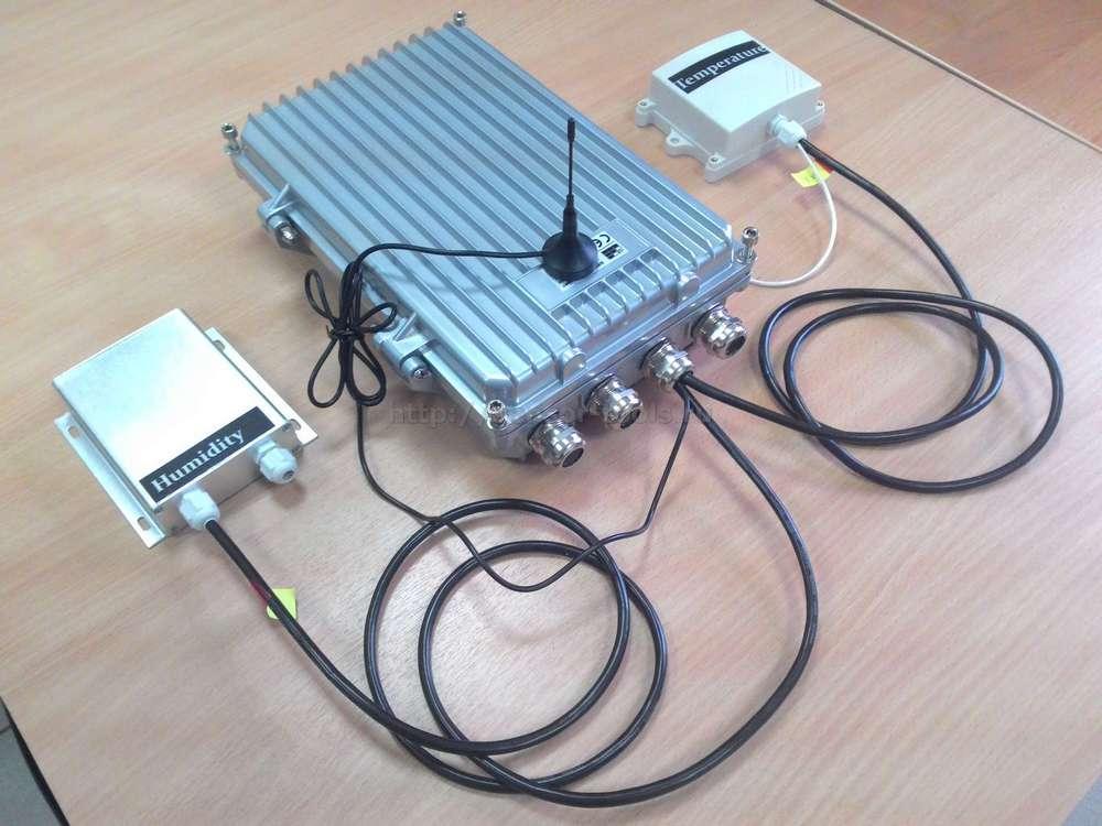 Автономный регистратор серии GS828-LSA с датчиком влажности и температуры