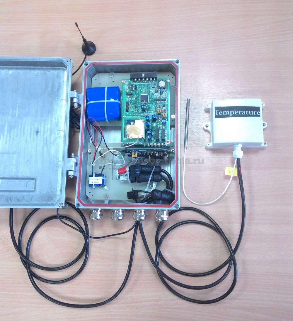 Устройство автономного регистратора температуры и влажности серии GS828-LSA
