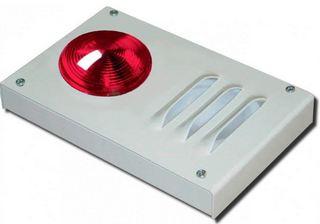 Свето-звуковая сигнализация о превышении температуры